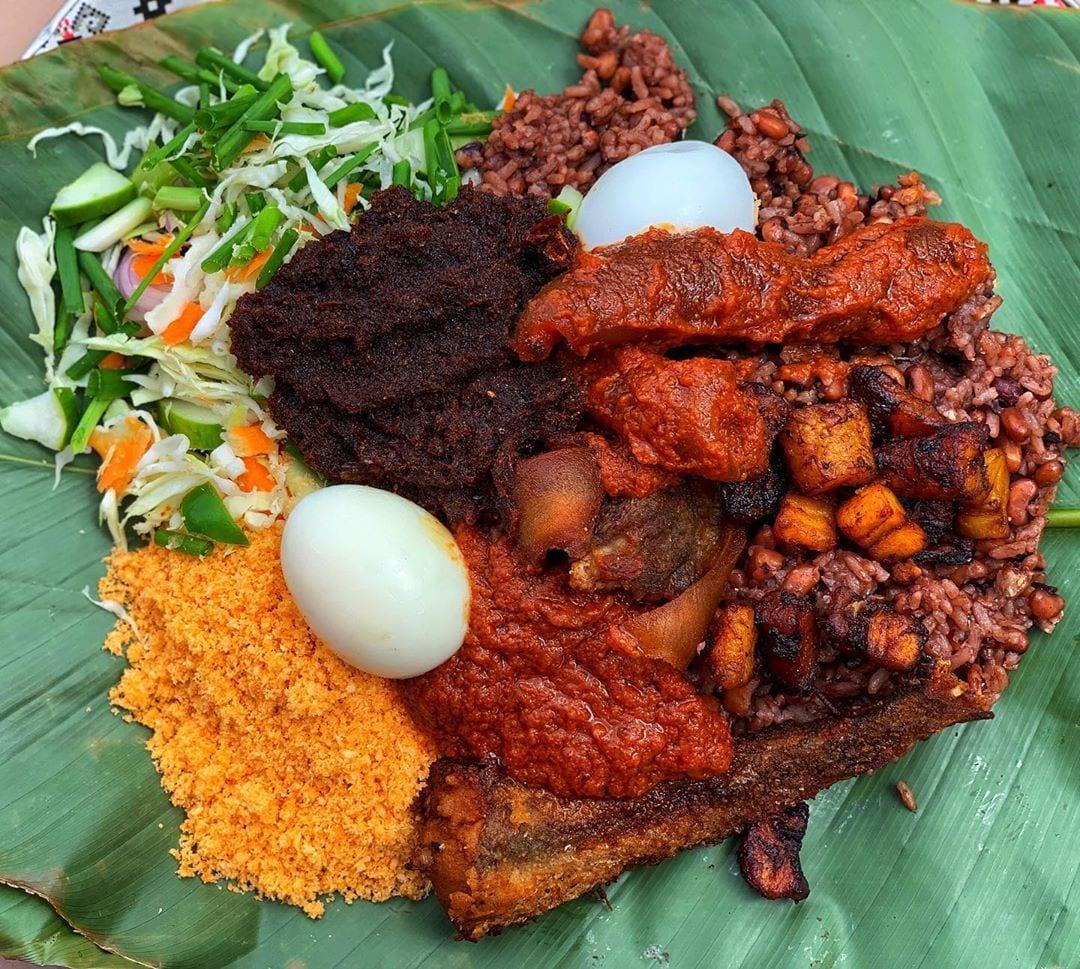waakye on list of traditional foods in Ghana