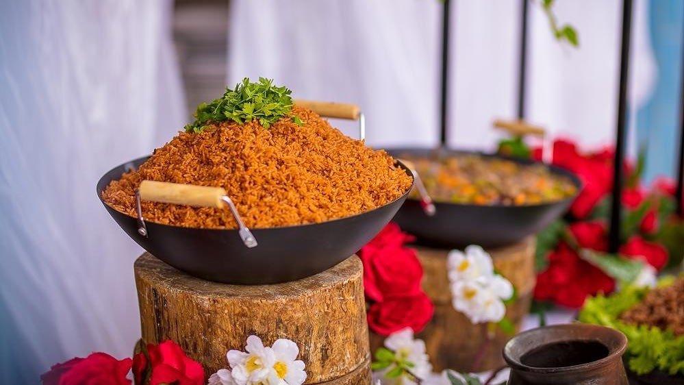 jollof rice on list of traditional foods in Ghana