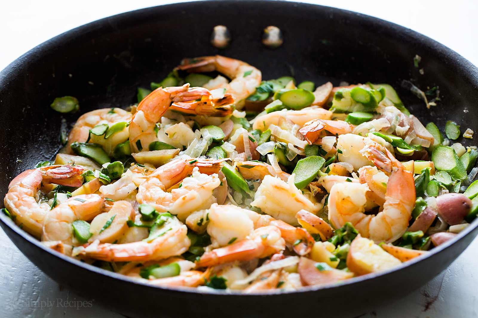 how to cook shrimp stir fry asparagus