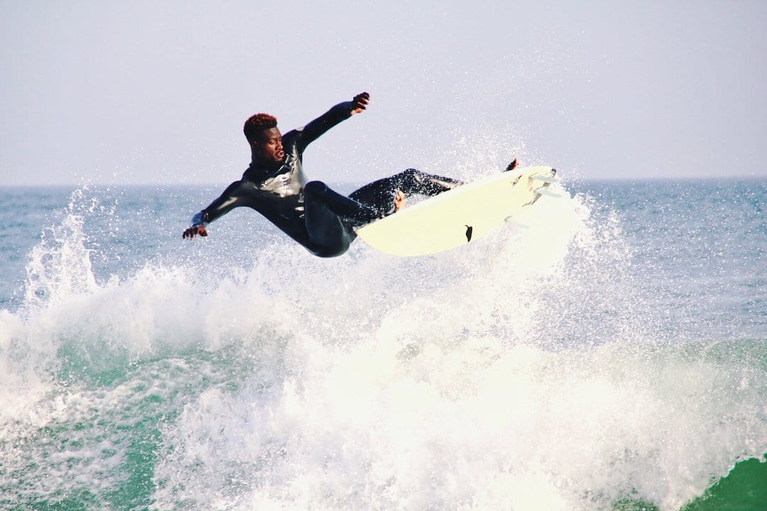 Oumar Seye and Surfing Waves in Dakar, Senegal