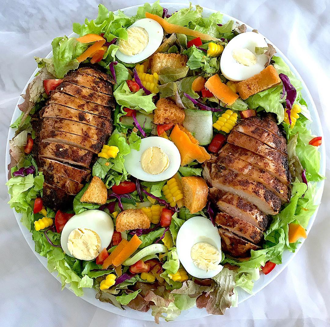 how to make Classic Grilled Chicken Salad recipe
