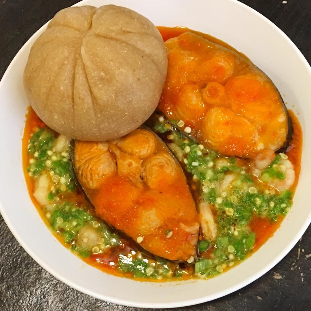 how to cook okro soup with fish