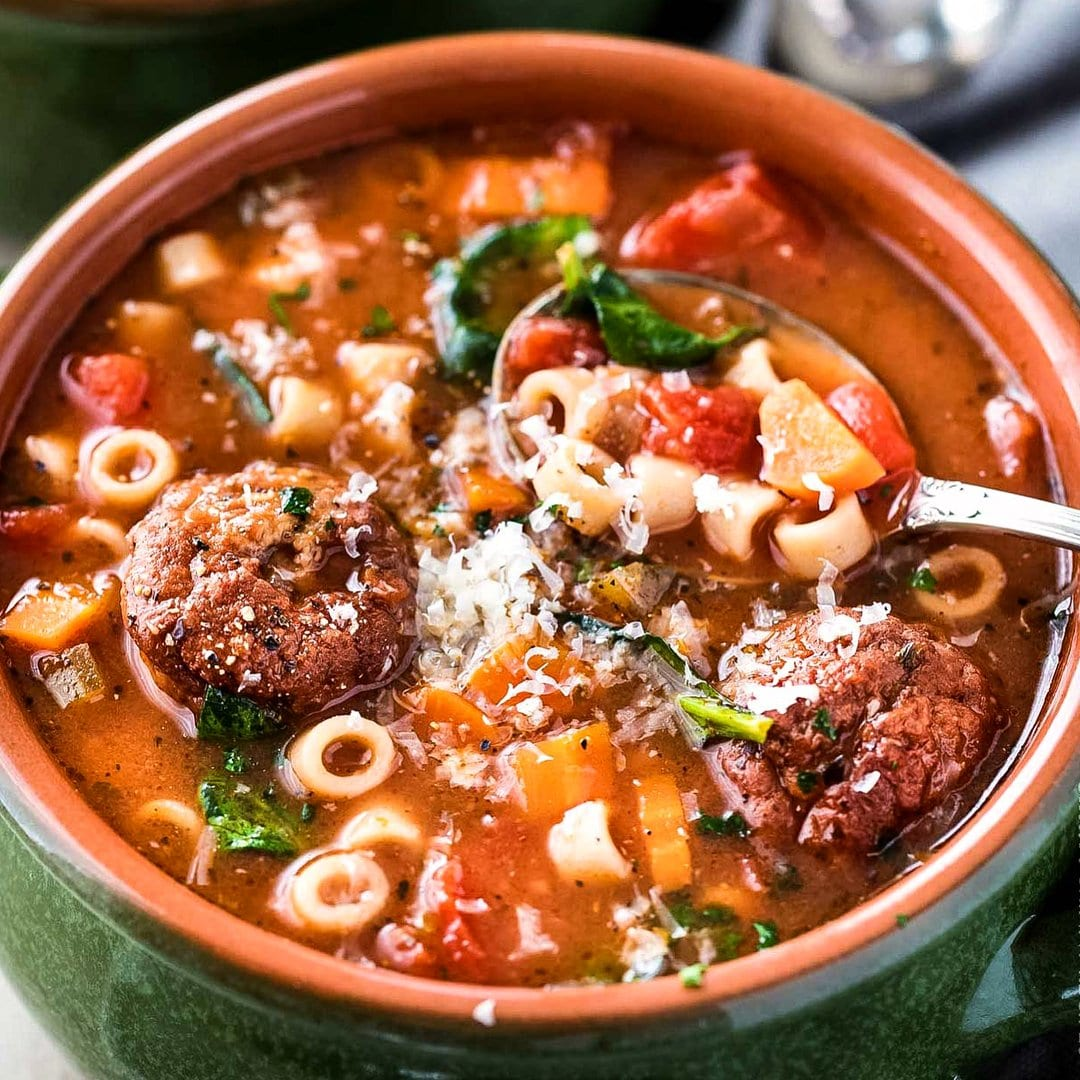 how to cook meatball soup