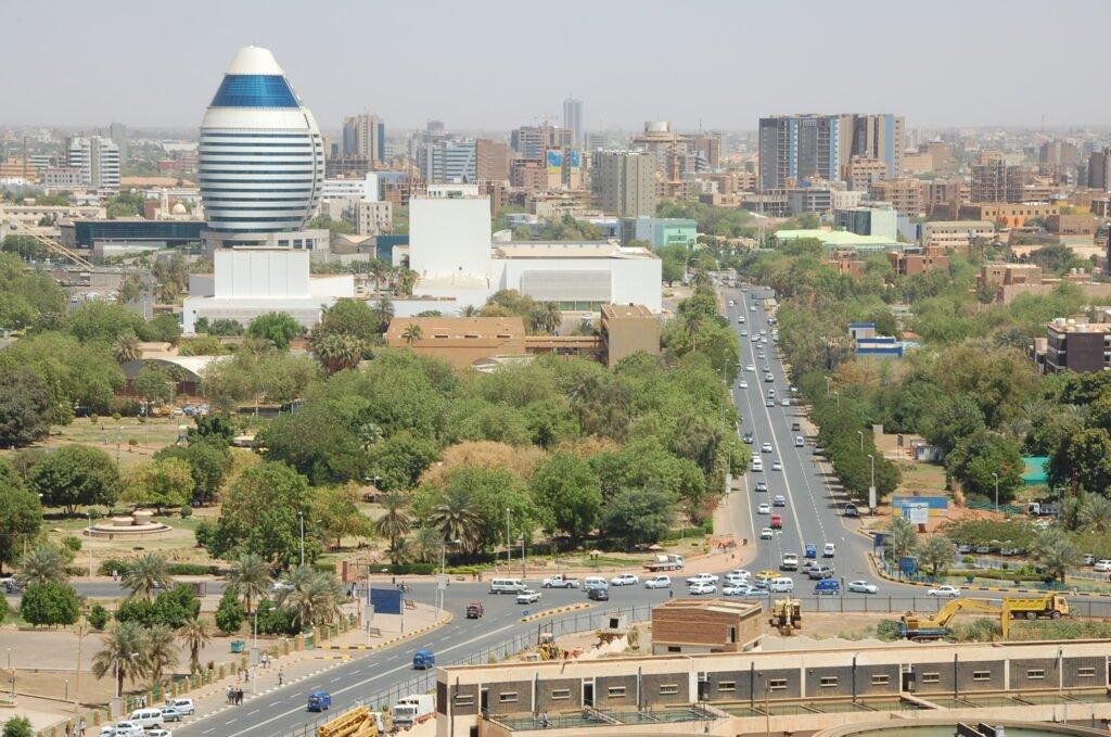 Khartoum skyline