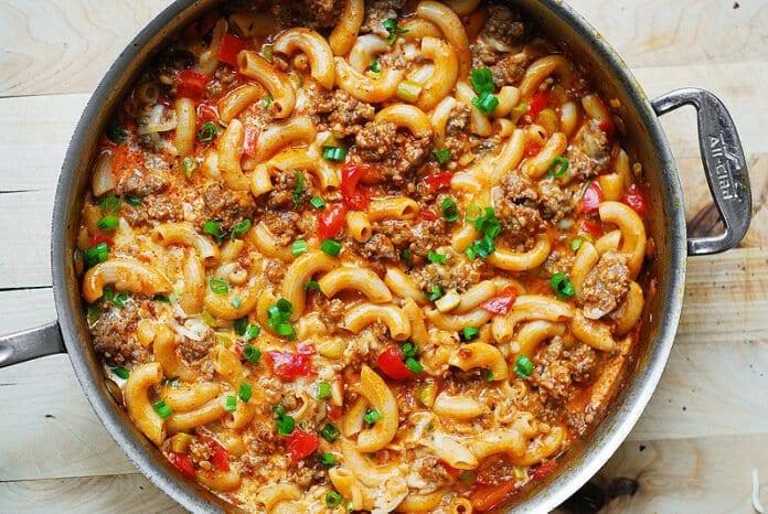 sausage mac n cheese