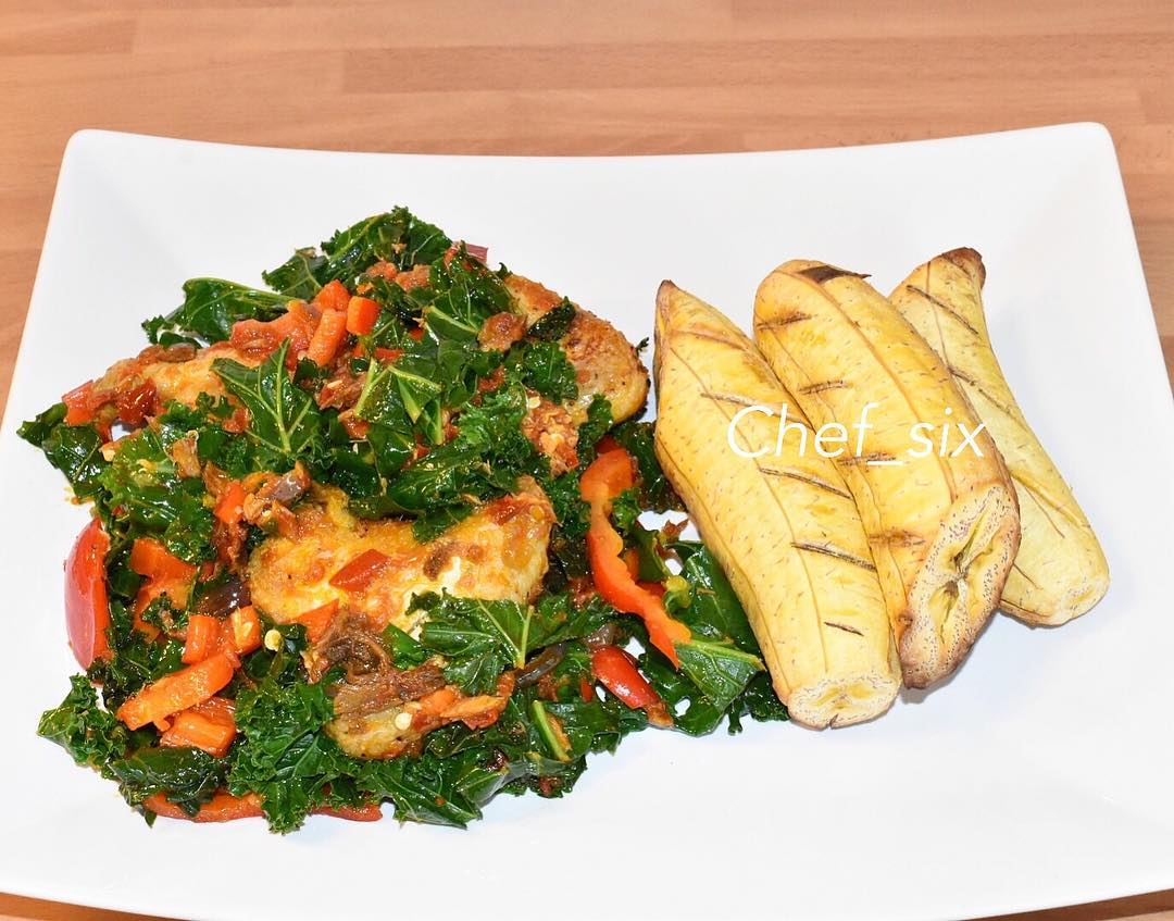 recipe for roasted plantain and vegetable