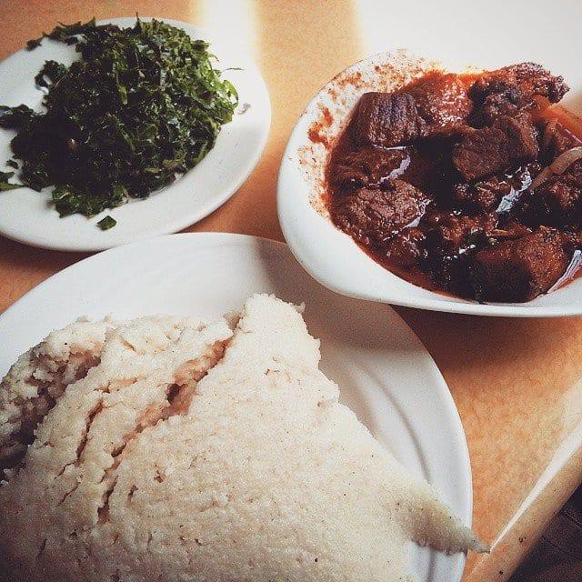 how to make ugali and sukuma wiki