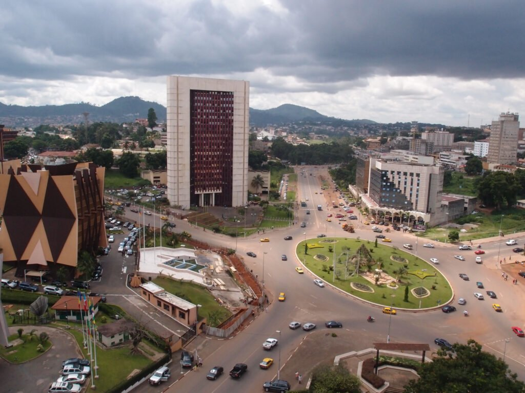 Yaounde skyline