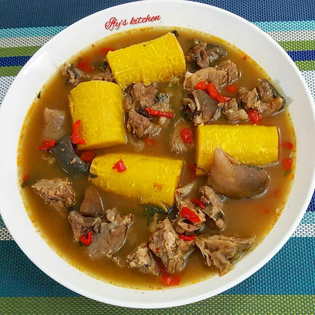 how to make peppersoup