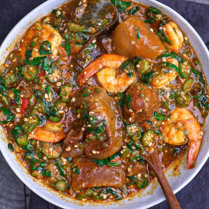 learn okra soup recipe
