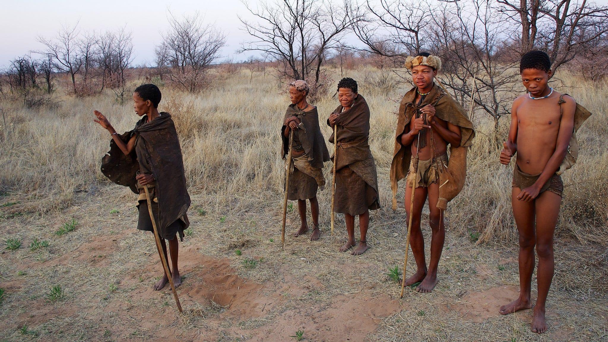 San Bushmen Tribe