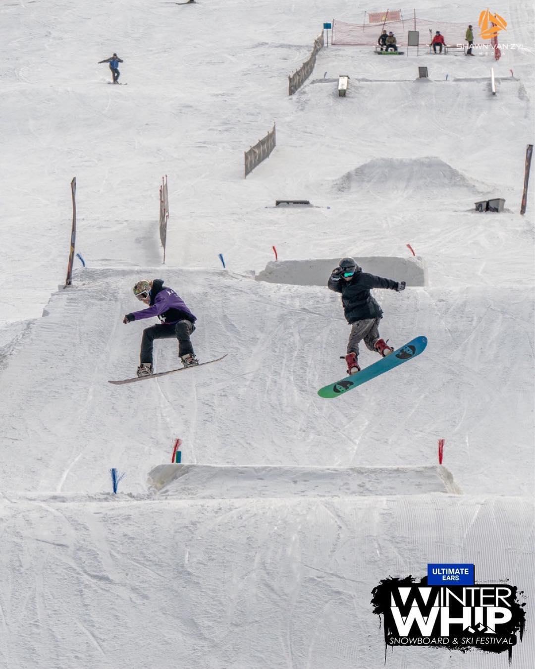 Ski Slopes inMaluti Mountains