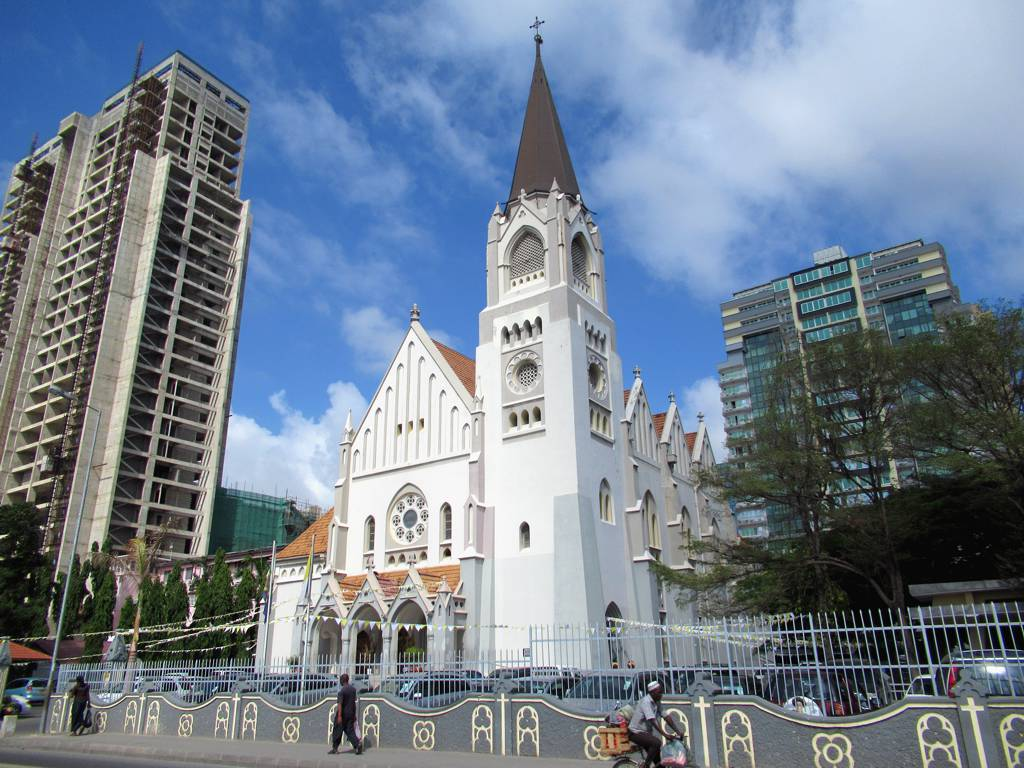 Catholic cathedral in Dar es Salaam