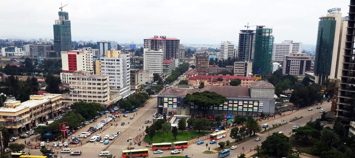 Addis Ababa colourful Cities in Africa