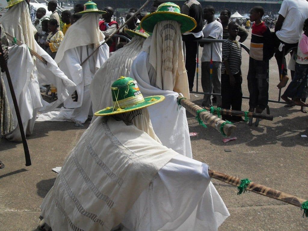Nigeria eyo festival