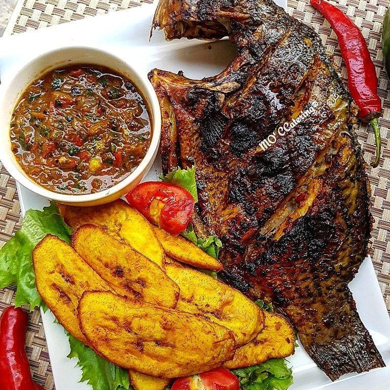 grilled tilapia fish recipe