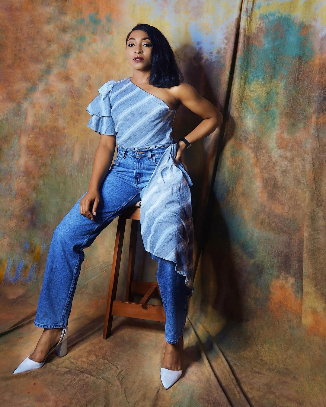 sharon ojong nigerian fashion blogger