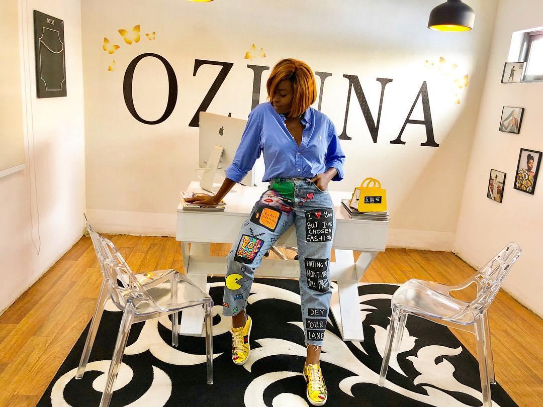 Zina Anumudu stylist and nigerian fashion blogger