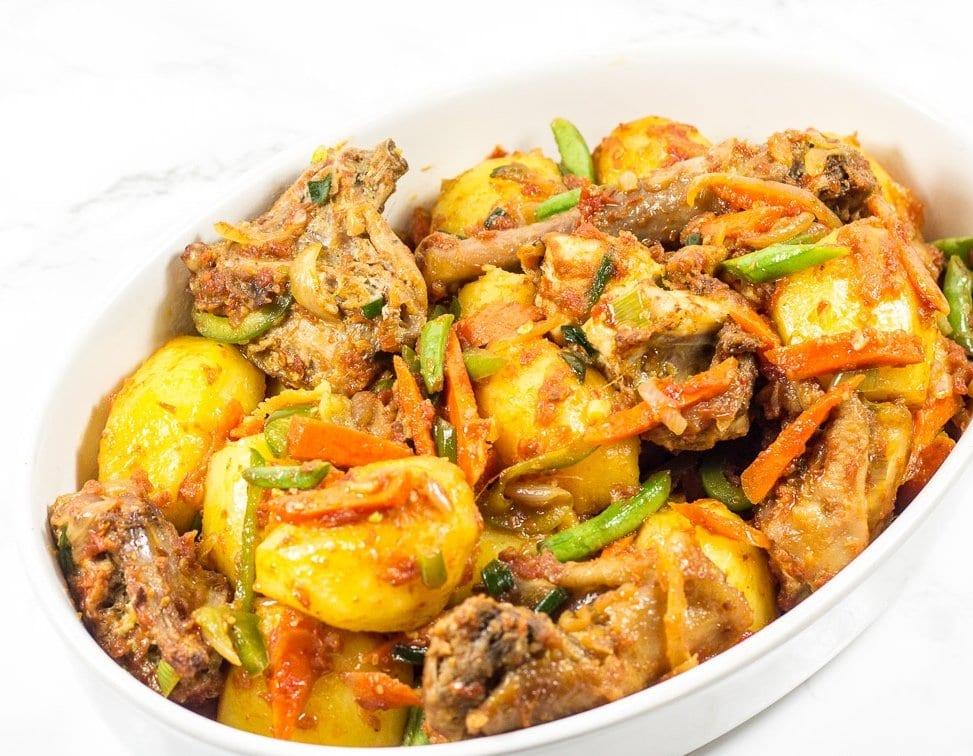 potato hotpot recipe