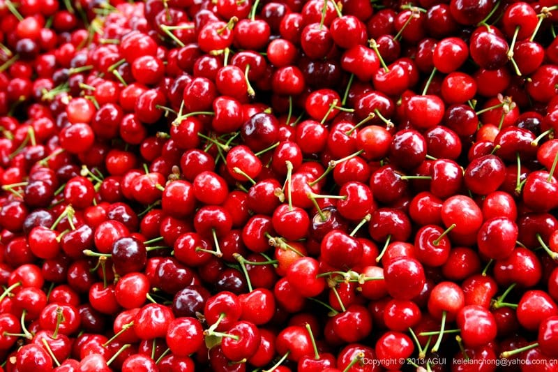 cherries for Flat belly and weight loss