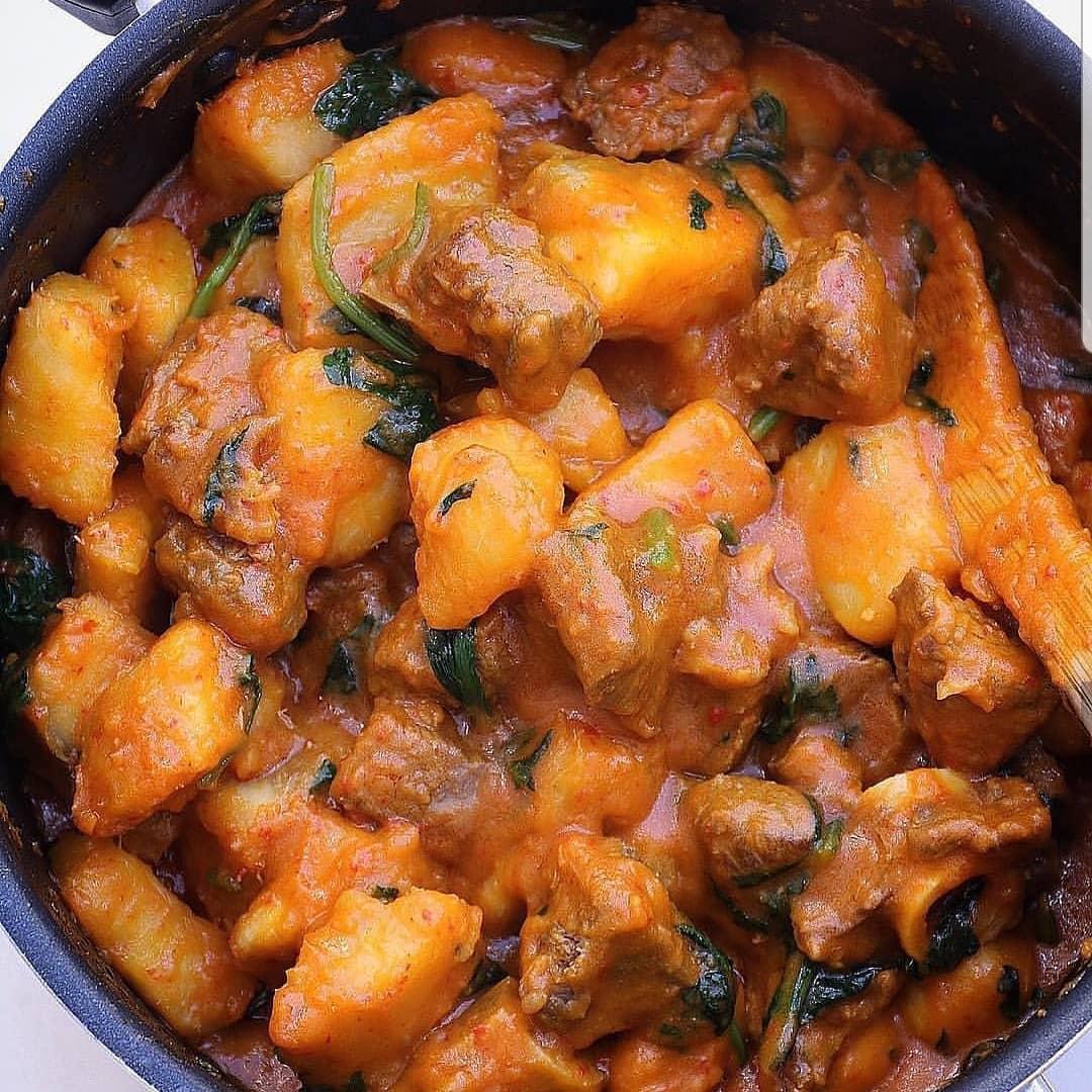 Nigerian Yam Porridge recipe
