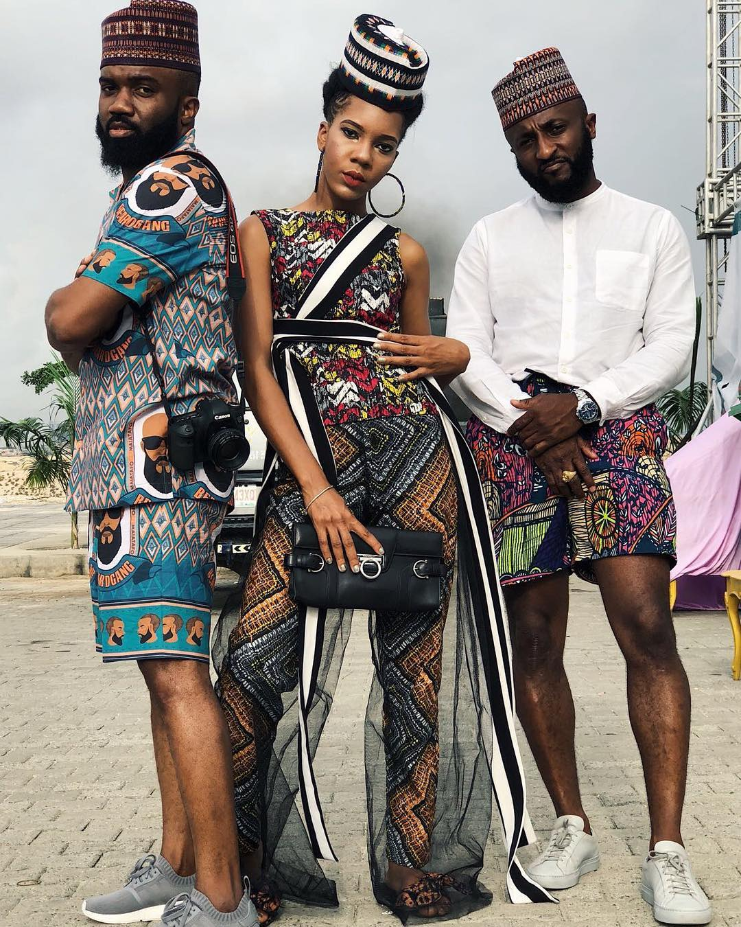 What They're Wearing in Lagos