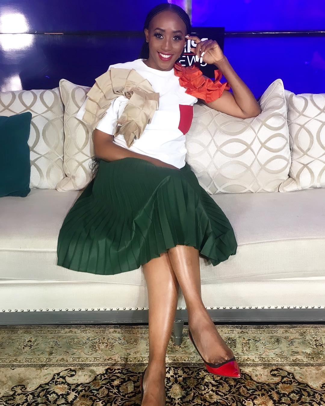 VERONICA EBIE Nigerian stylist