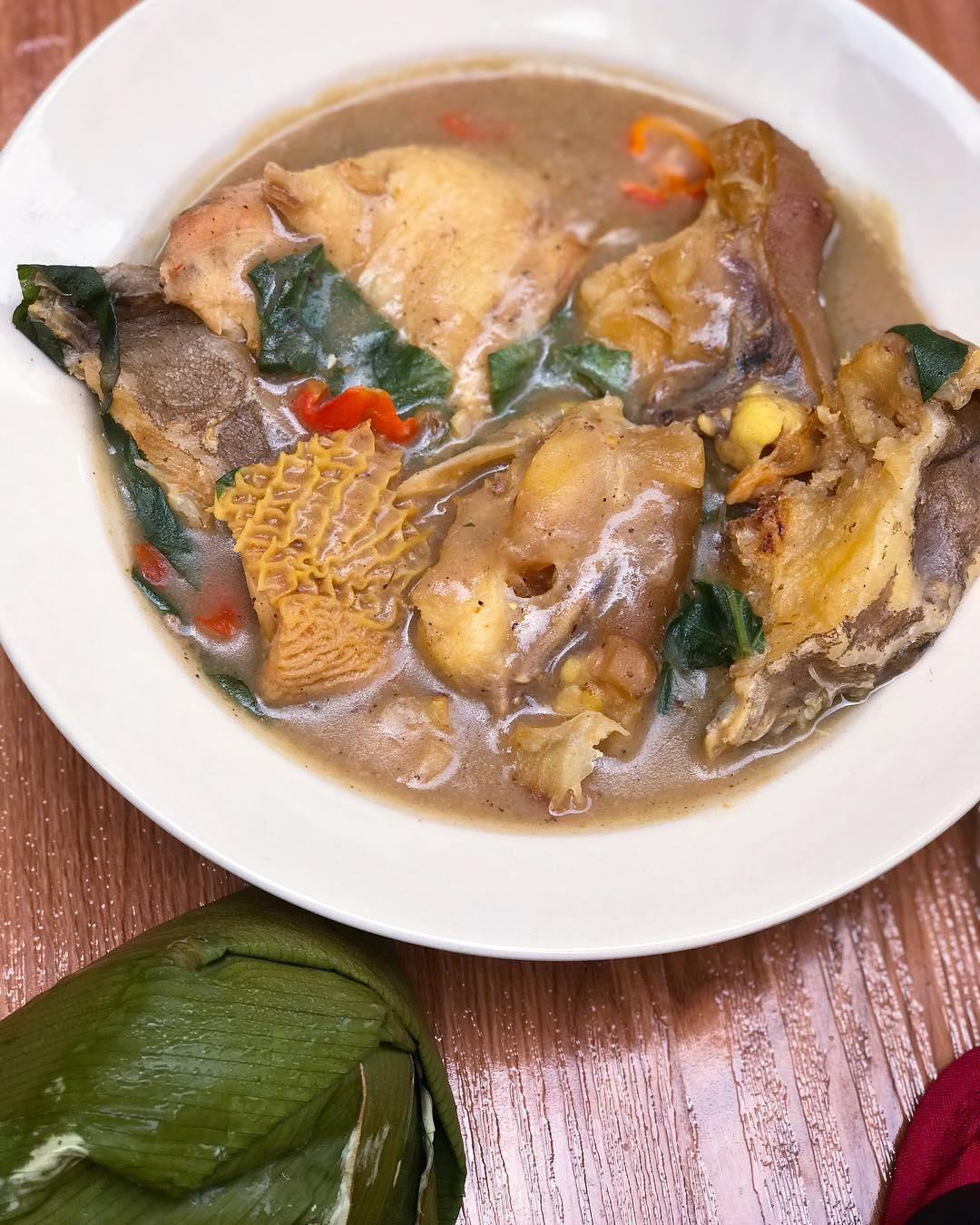 how to cook ofe nsala