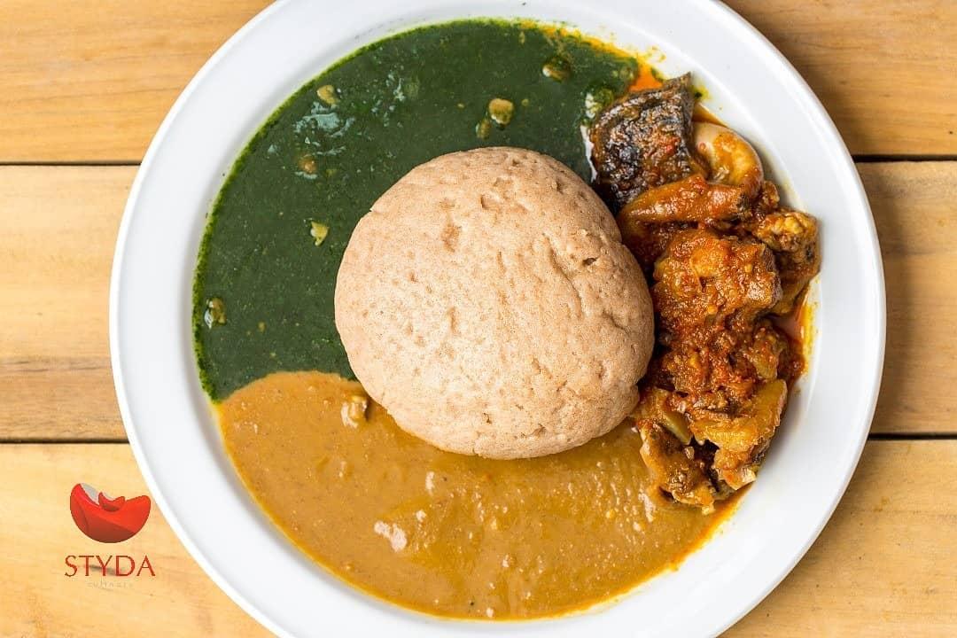 Ewedu Gbegiri soup