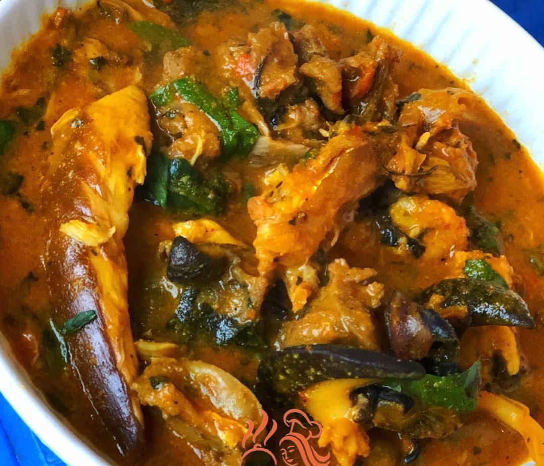ogbono soup recipe aka draw soup