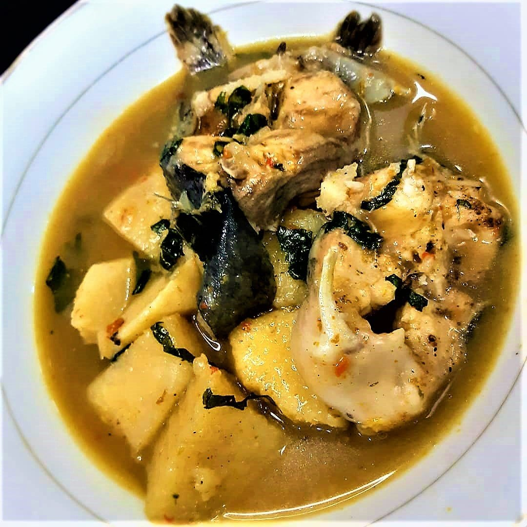 catfish and yam peppersoup
