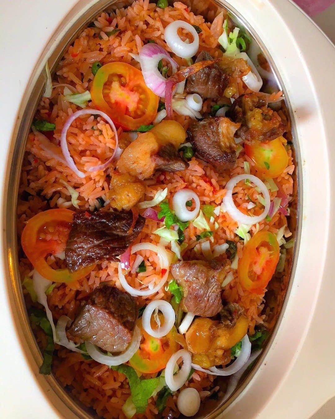 how to cook jollof rice