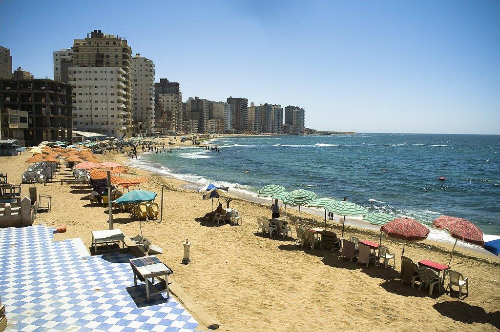 Abu Qir Beach best beaches in Alexandria