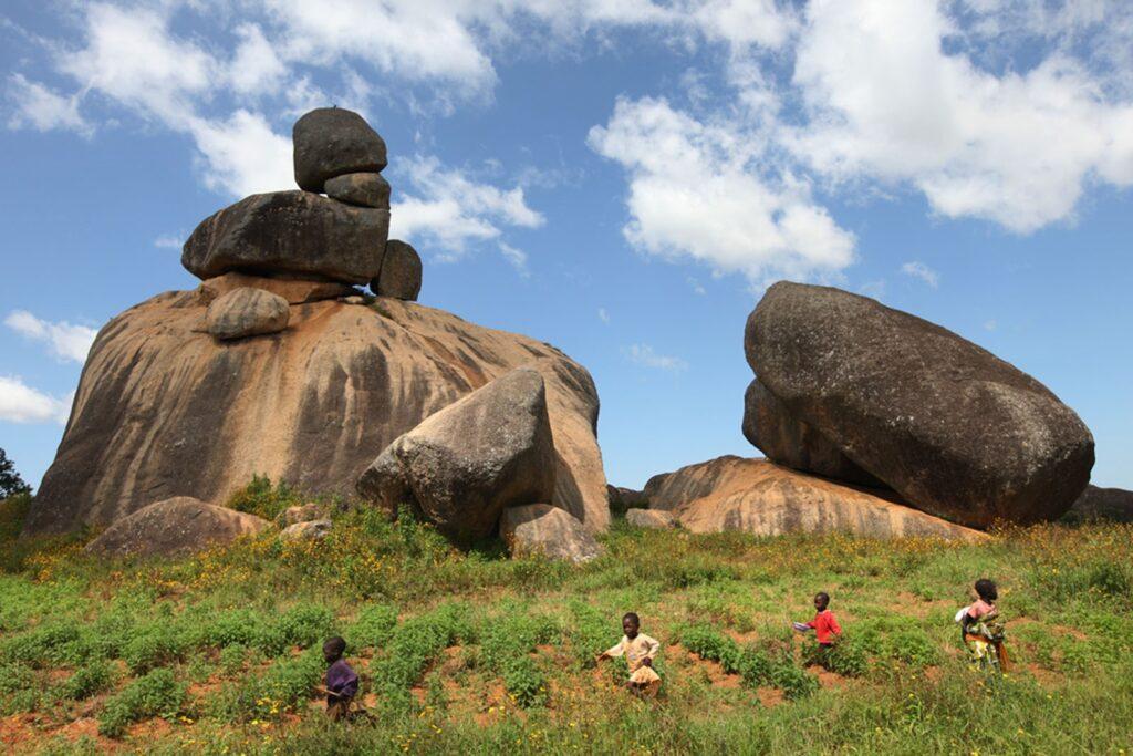 Major Rocks in Nigeria: Riyom Rock