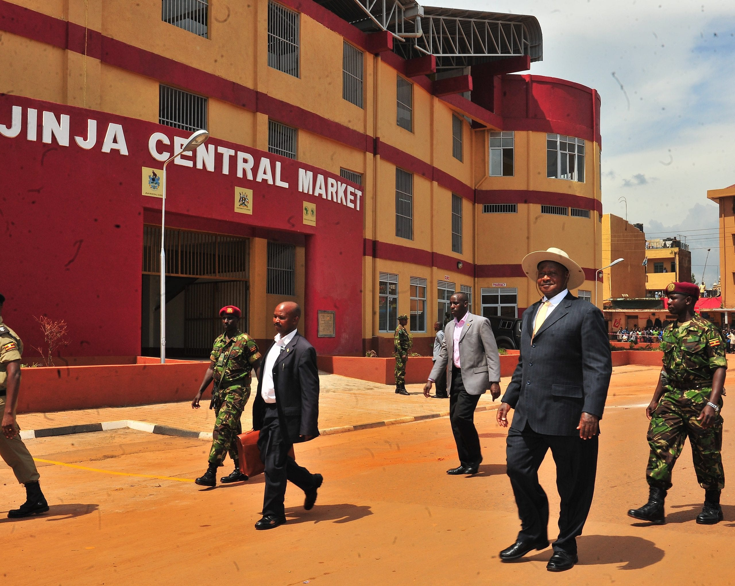 Jinja Central Market best markets in Uganda