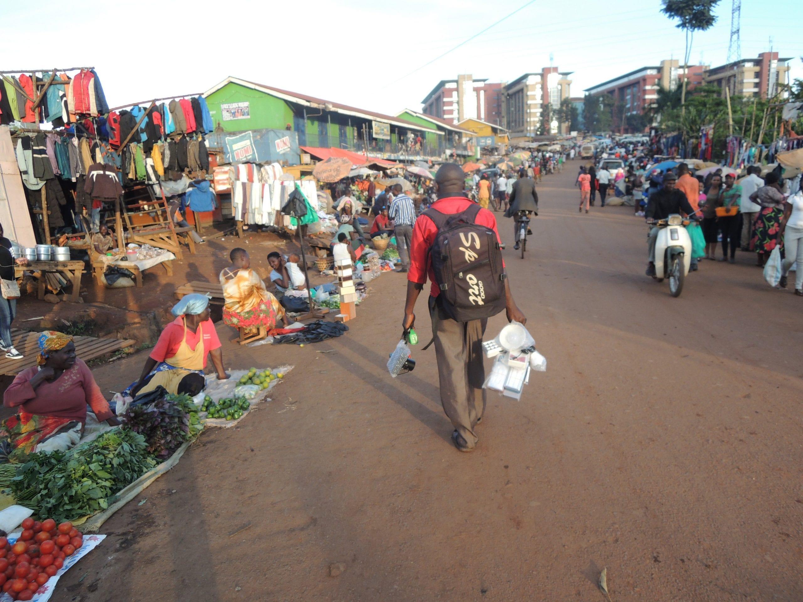 Nakasero Market best markets in Uganda
