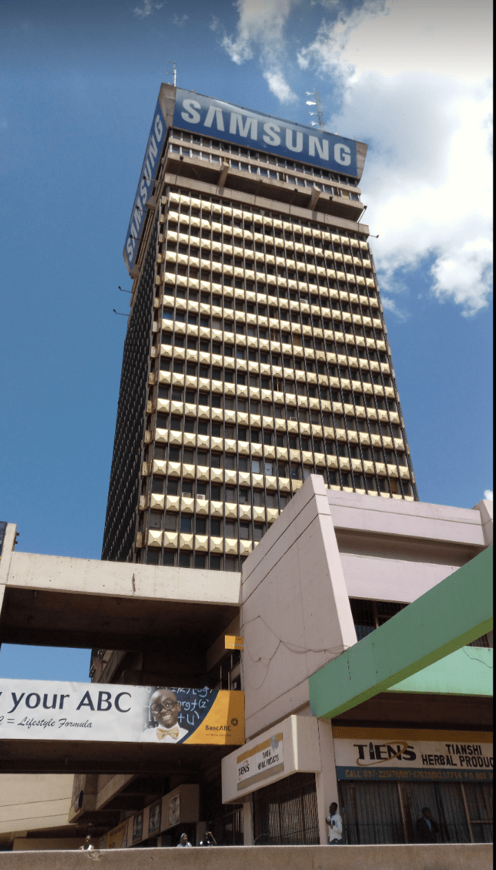 Buildings in Lusaka: Findeco House
