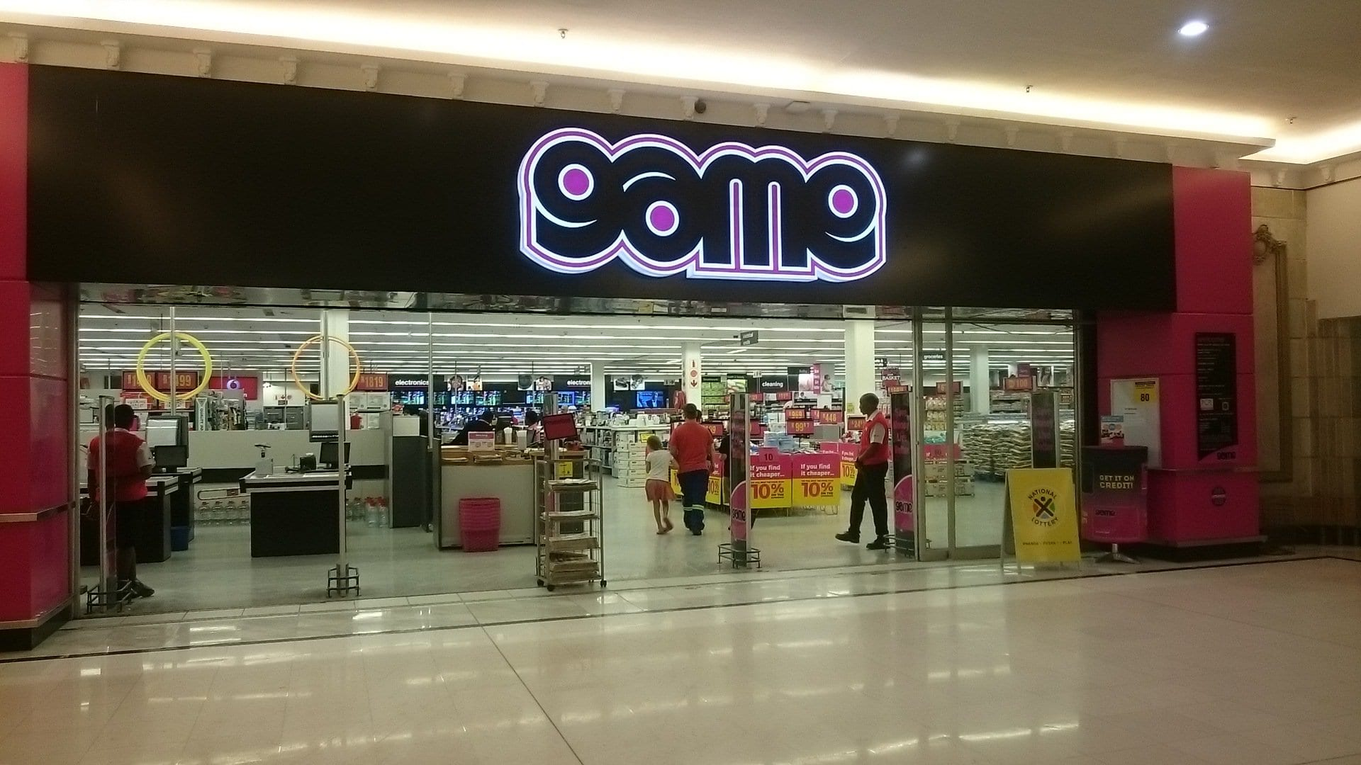 best department stores in durban: game stores
