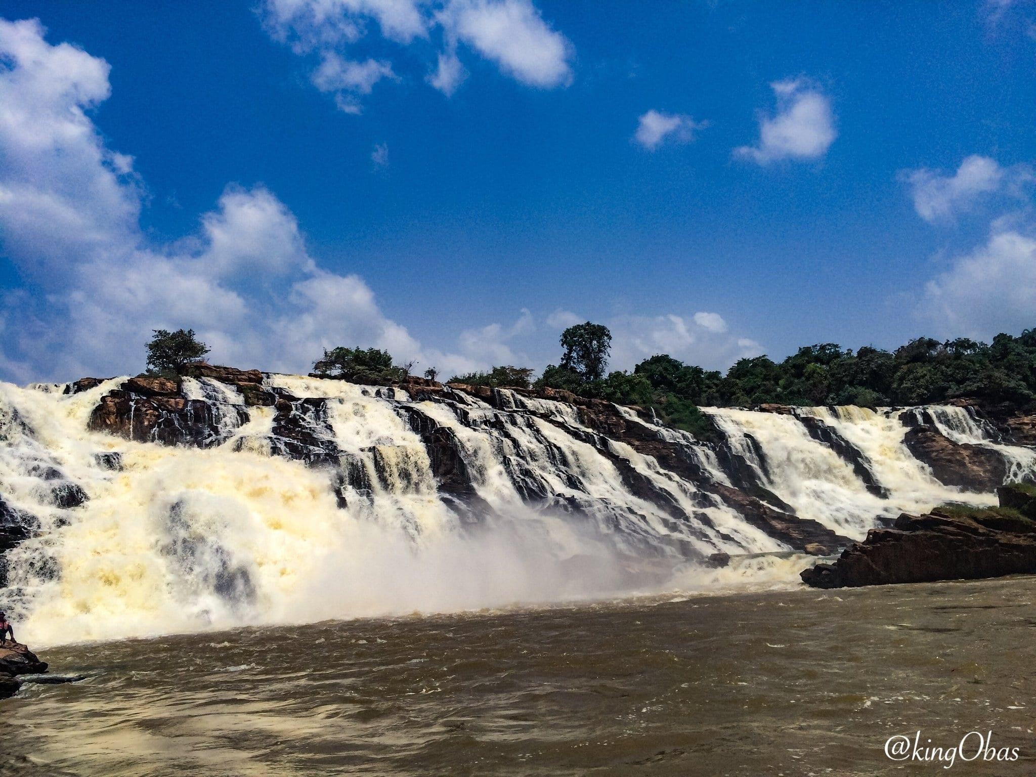 waterfalls in nigeria: Gurara Waterfall