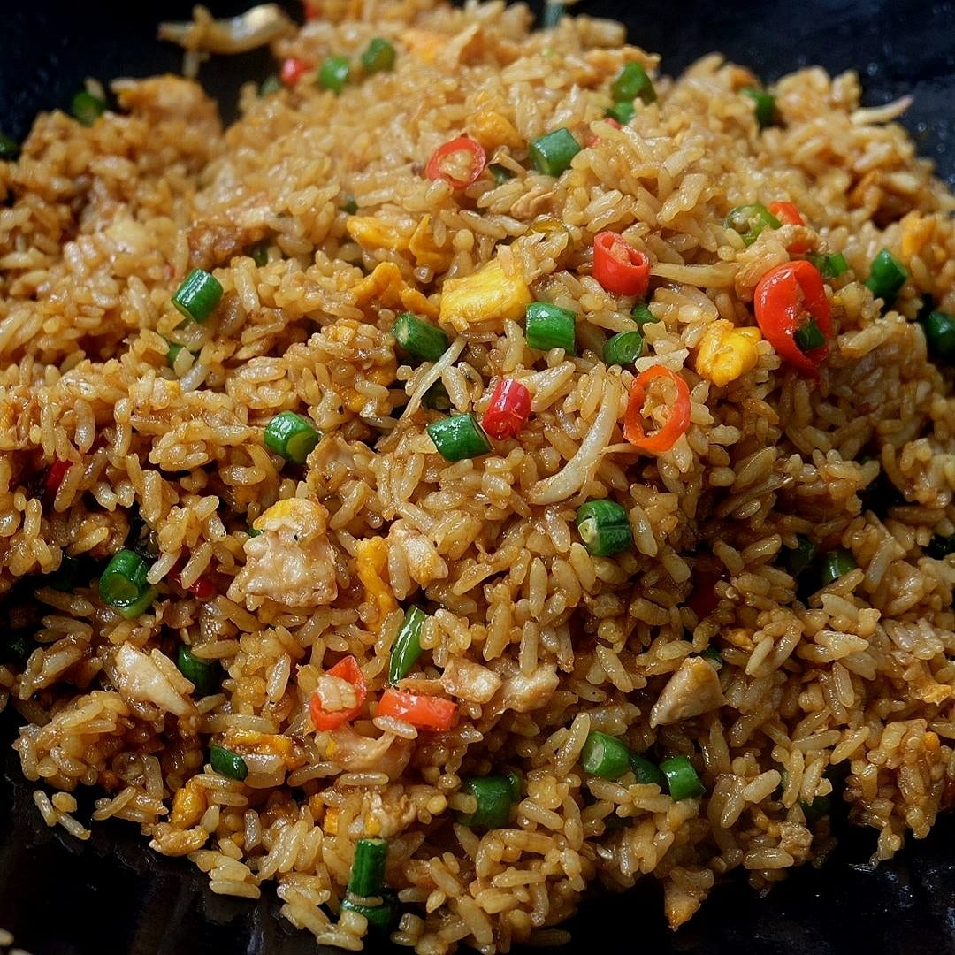 Indonesian Fried Rice Recipe (Nasi Goreng)
