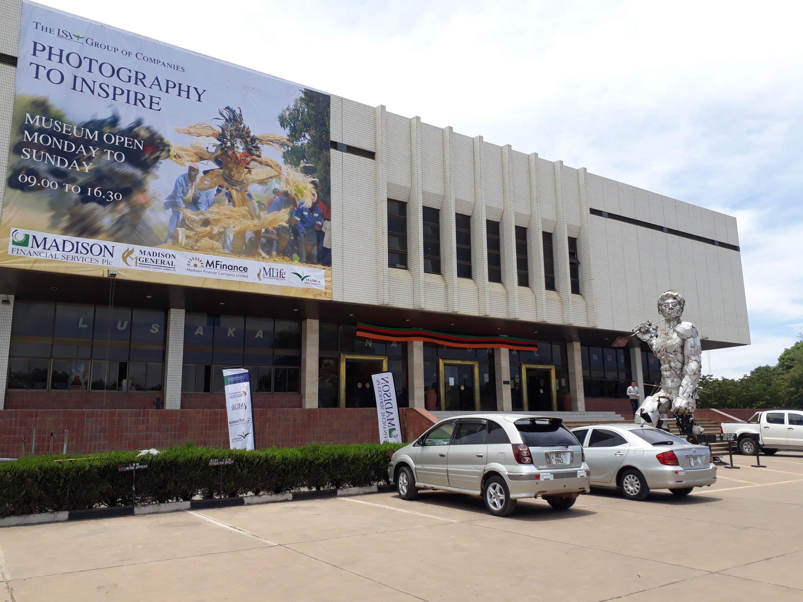 Buildings in Lusaka, Zambia: Lusaka National Museum