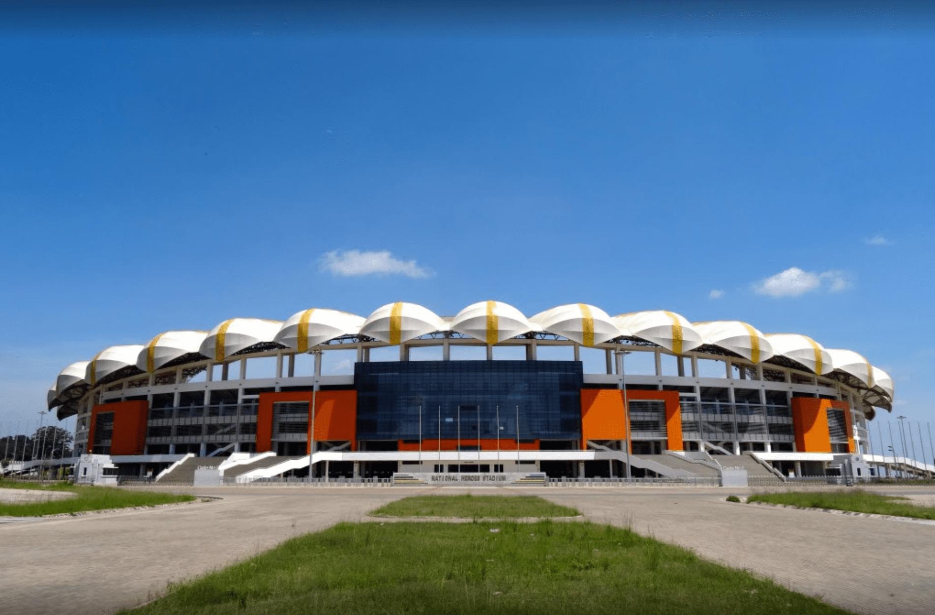 Buildings in Lusaka, Zambia: National Heroes Stadium
