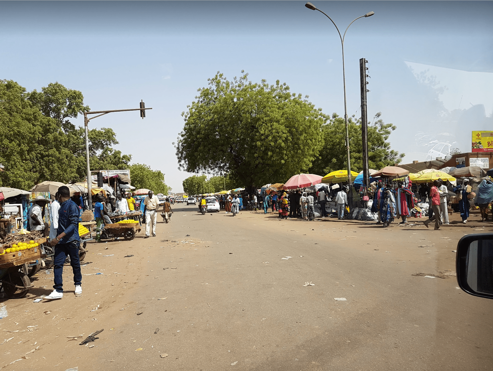 things to do in niamey: niamey grand marche
