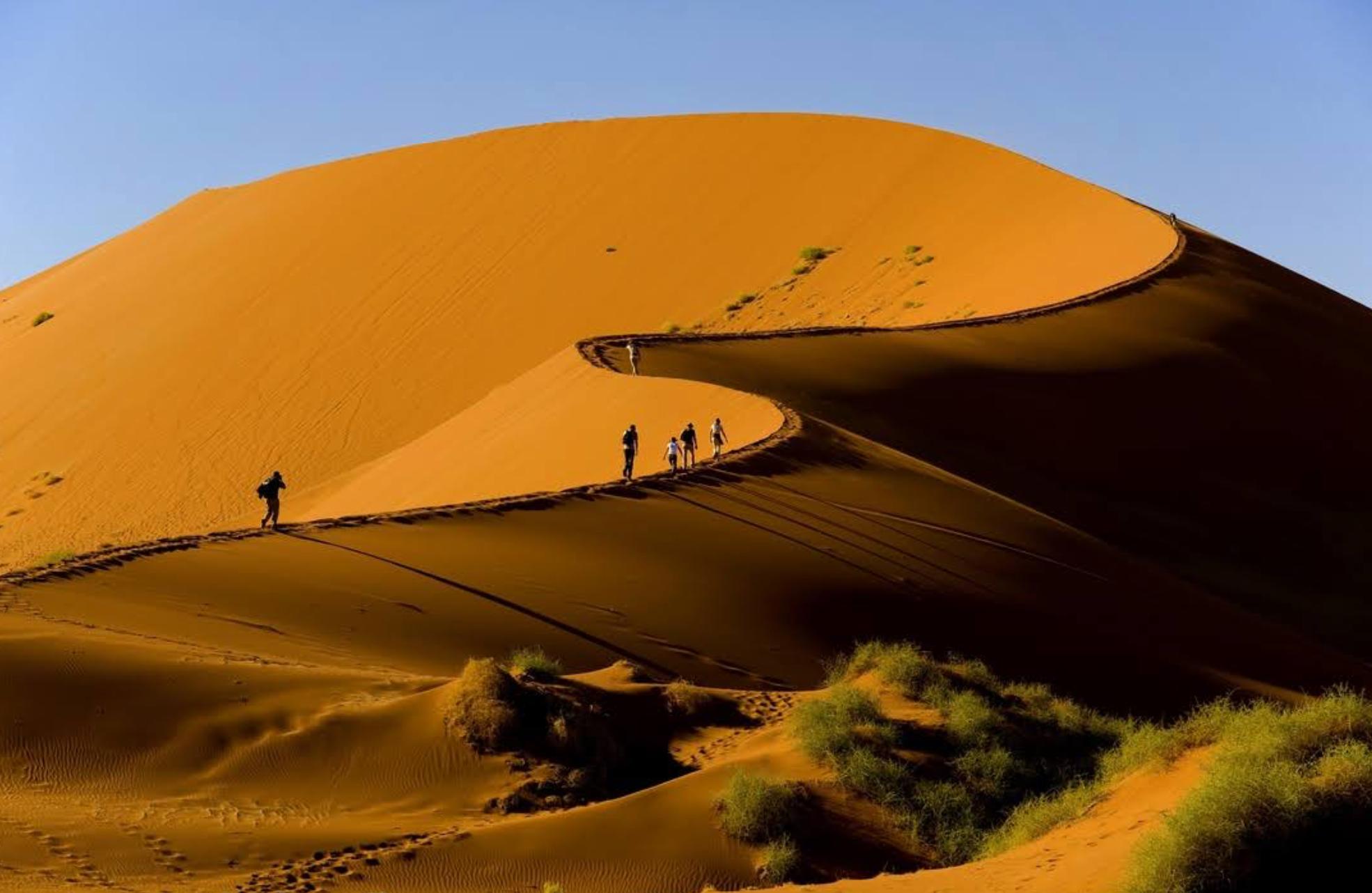 Sossusvlei natural wonders in Namibia