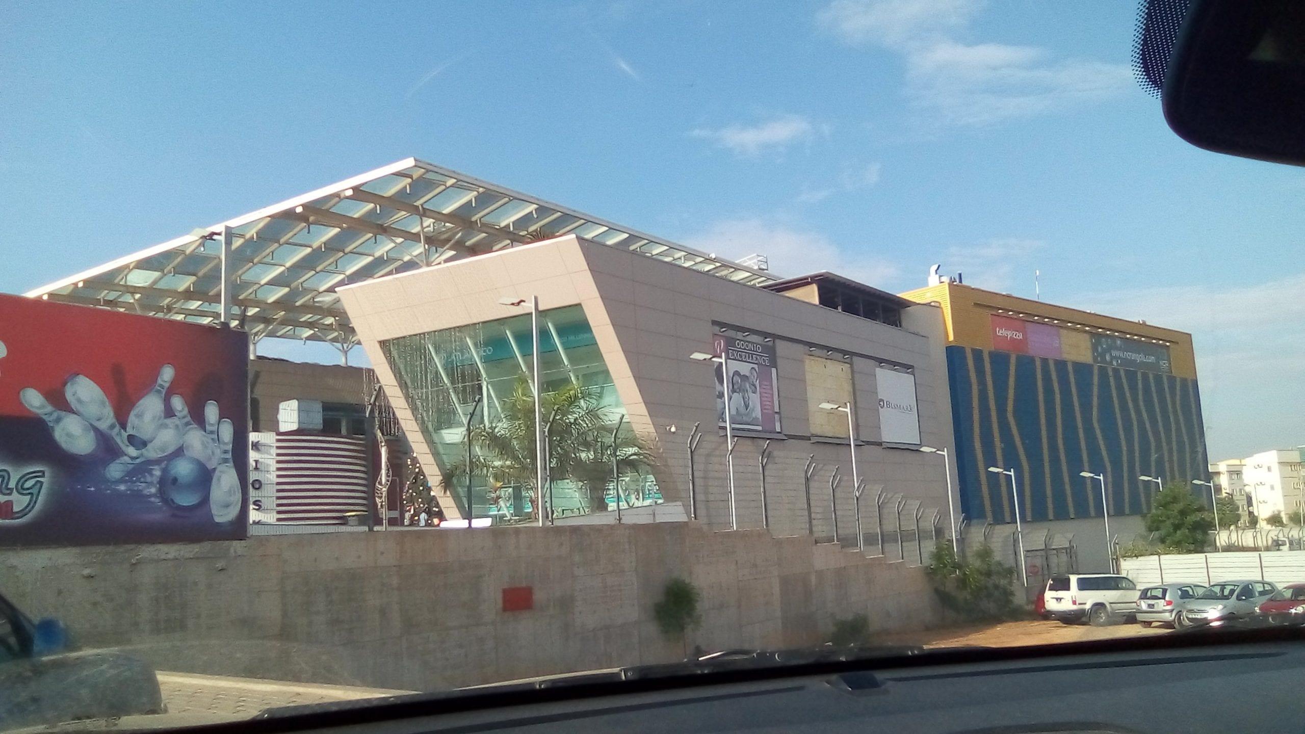 Atrium Nova Vida shopping malls in Luanda