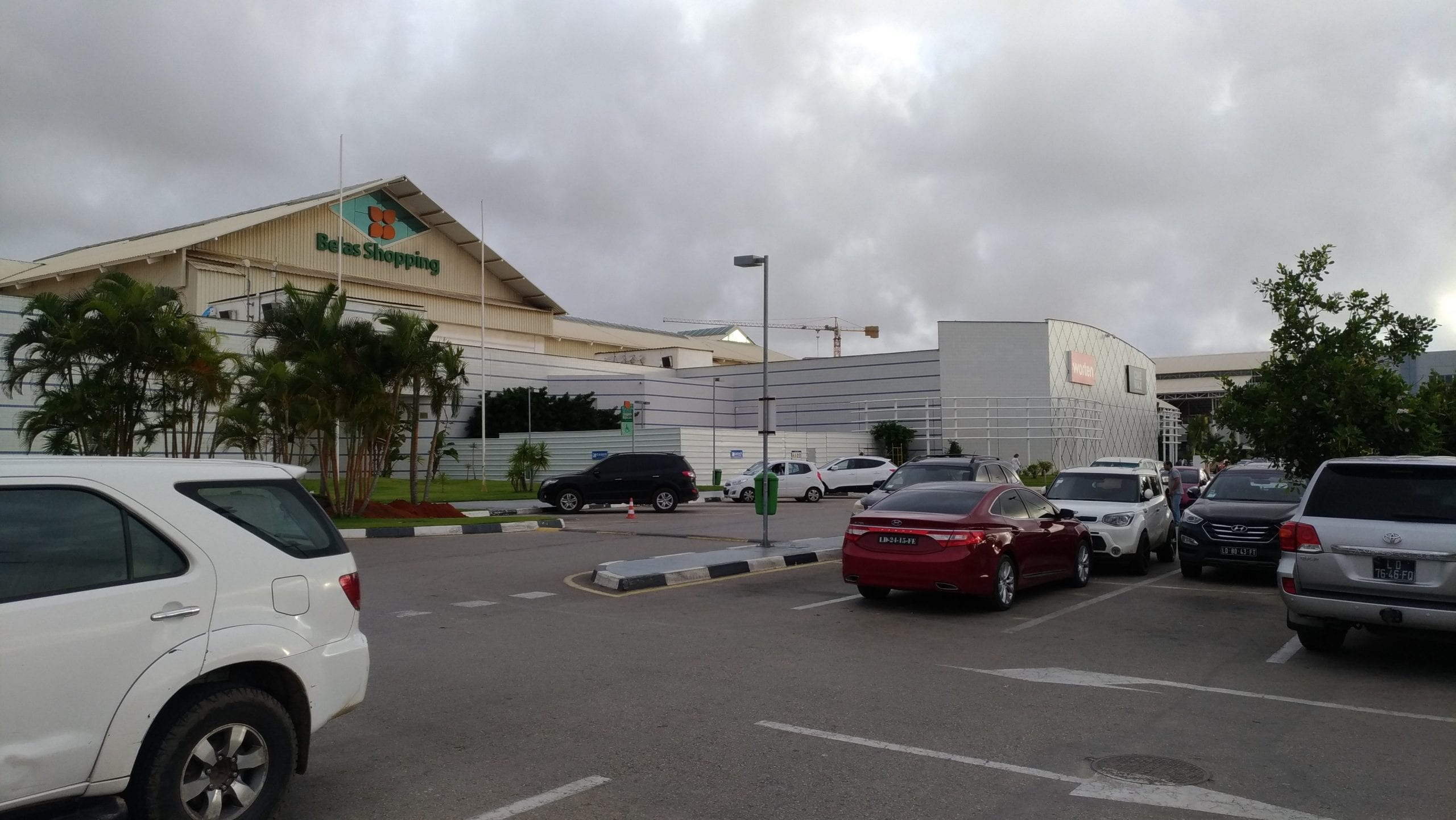 Atrium Nova Vida shopping centres in Luanda