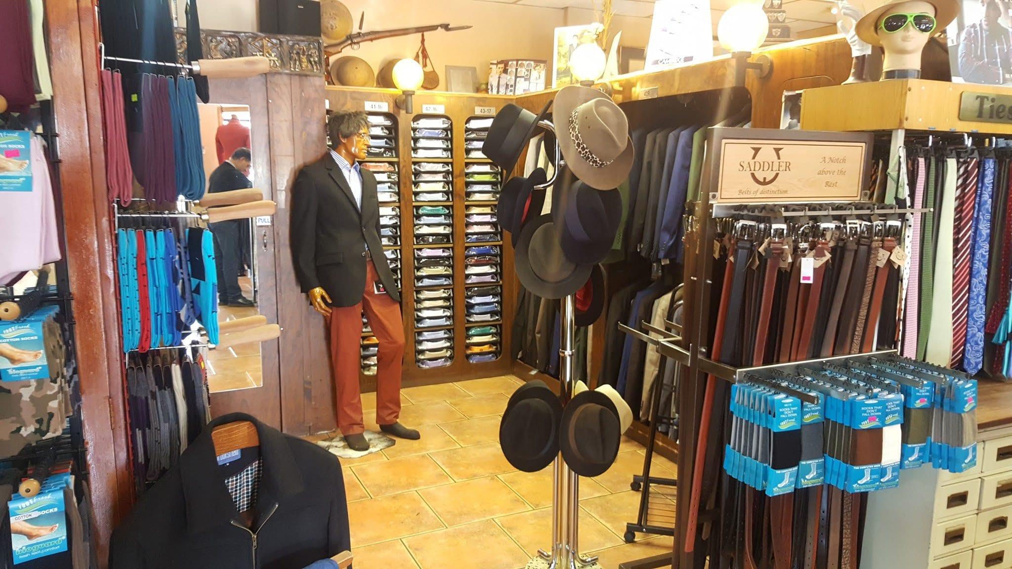 Bill Craig Man Shop best shops in Jo'burg