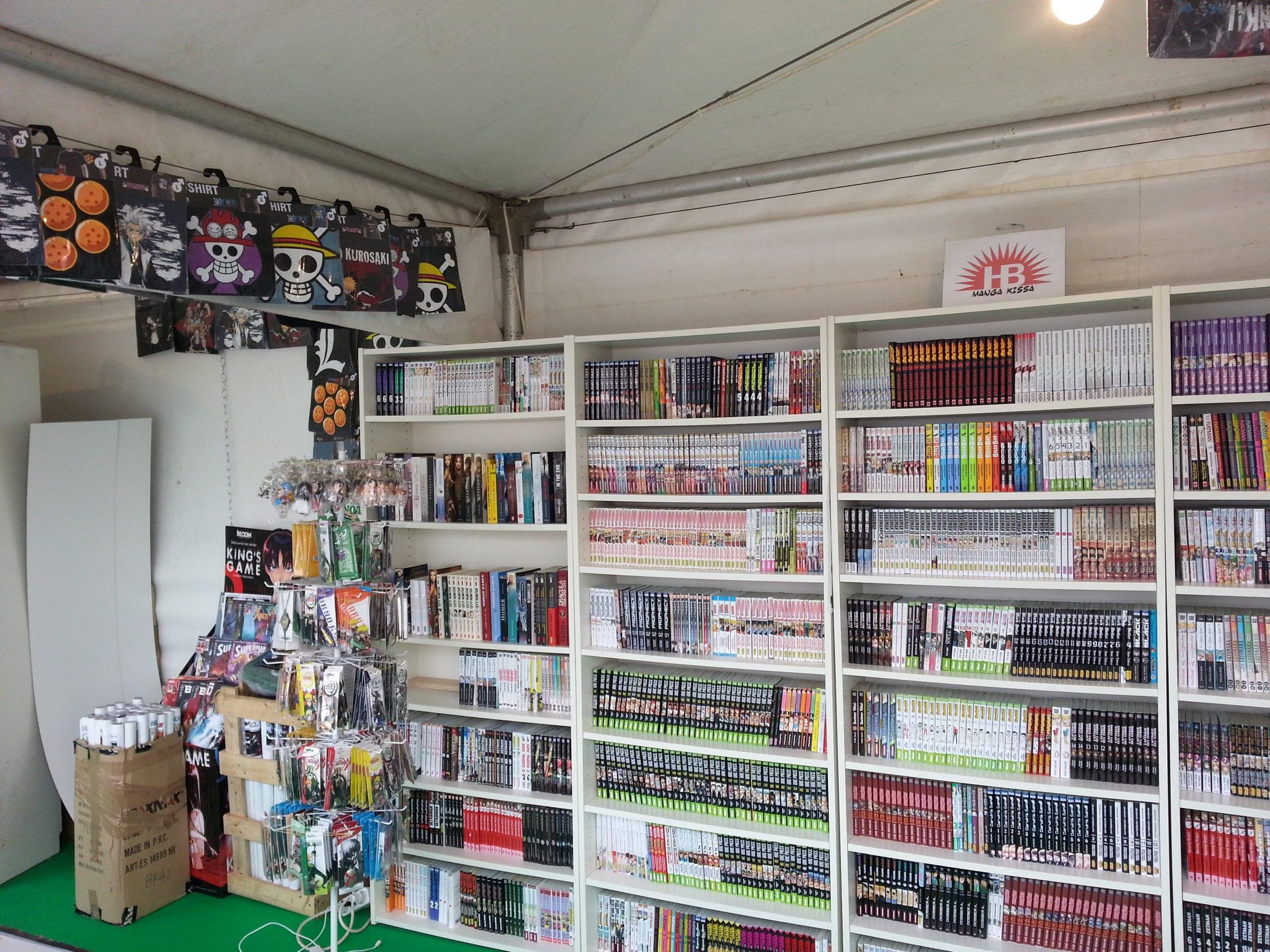 HB Manga Kissa best bookstore in algiers
