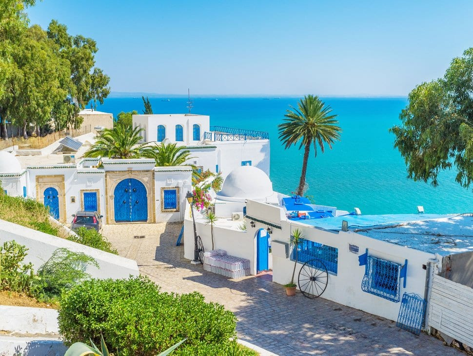 best beaches in Tunisia
