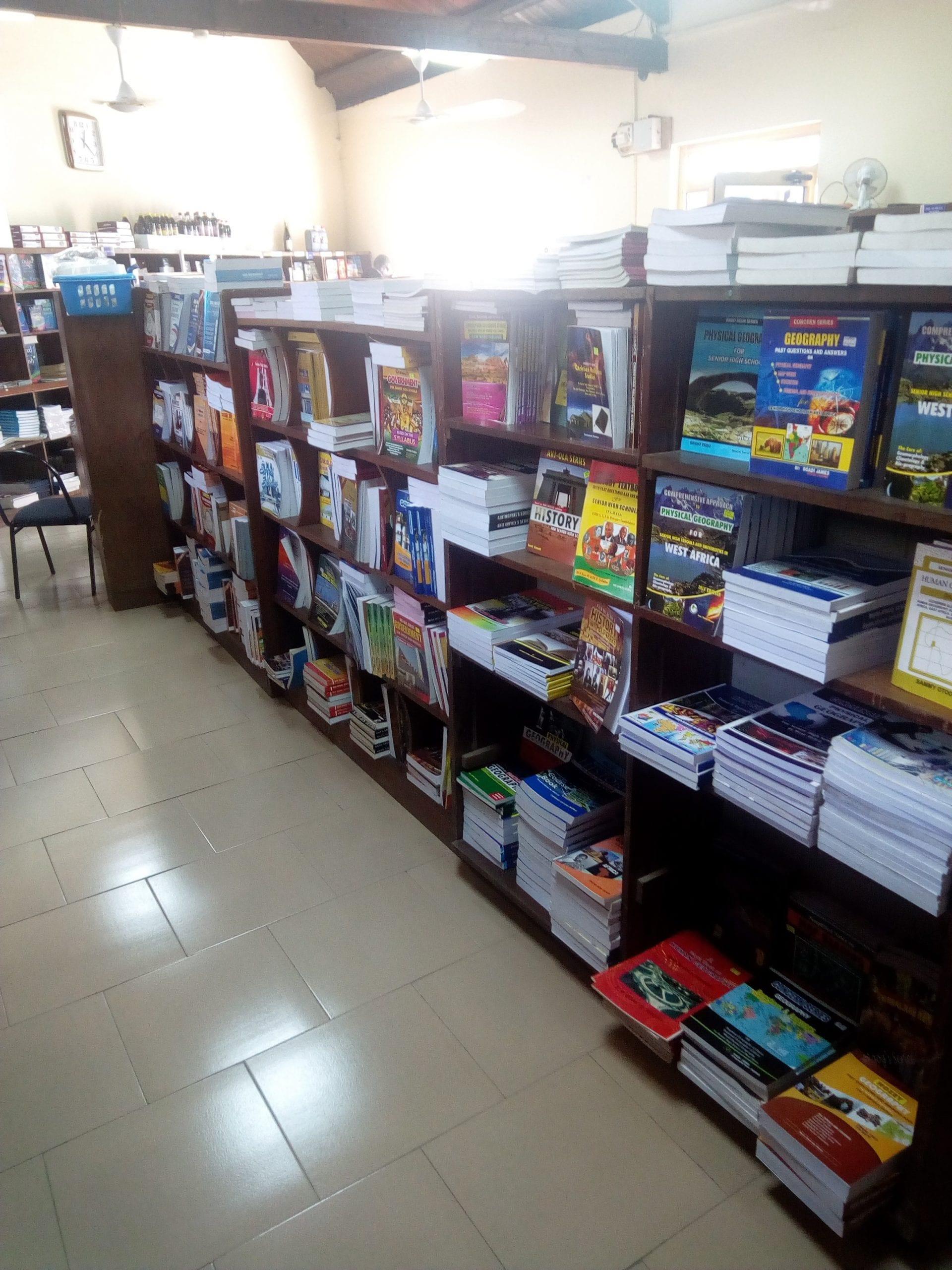 Methodist Book Depot bookstores in Accra Ghana